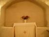 Järnkrona i det gamla vapenhuset/kapellet