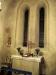 Ursprungliga kyrkans kor med dess 1950 återställda gamla fönstergrupp