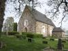 Under 1300-talet brann kyrkan och taket förstördes