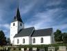 Gottröra kyrka på 90-talet. Foto: Åke Johansson.