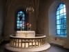 Altaret med ljusstakar från 1735