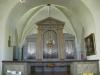 Orgeln som numera står i tornrummet