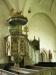 Från 1400-talets slut är detta vackra altarskåp