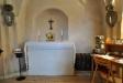 Litet altare i entrén