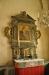 Altaruppsats sammansatt av flera olika delar från skilda tidsepoker