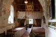 Yttergrans kyrka mot altaret