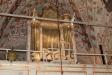Yttergrans kyrka kyrksalen mot altaret