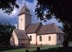 Yttergrans kyrka på 90-talet. Foto: Åke Johansson.