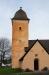 Tornet är ett lutande dragspel.
