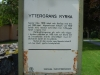 Informationstavla vid Yttergrans kyrka för några år sedan.