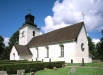 Övergrans kyrka på 90-talet. Foto: Åke Johansson.