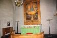 Altartavlan föreställer Jesu dop.
