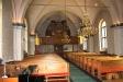 Kyrkolokalen från altaret.