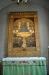 Altartavlan av Ole Kruse föreställer Jesu dop