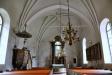 Altarskåp från 1400-talet. Svenskt arbete.
