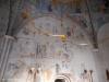 Målningar på korväggen