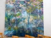 Målningen ´Växten´ av Hans Lindström