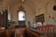 Predikstolen från mitten av 1600-talet anses gjord av Hans Claesson Hebel