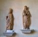 S.Sigfrid och madonnabild från ett tidigare altarskåp