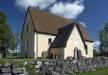 Rasbokils kyrka från söder.