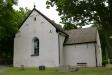 På en höjd nära Fröslunga kyrka står klockstapeln
