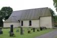 Gryta kyrka från kyrkogården