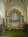 Orgelfasaden från 1838