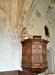 Predikstol från 1622. Återställdes i ursprungligt skick 1956