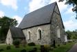 Kyrkan från kyrkogården