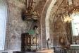 Dannemora kyrka kyrksalen från altaret