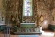 Dannemora kyrka ´Johannes döparen halshugges´ och ´Herodes gästabud´ 27 Juli 2016.