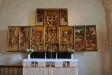 Ett ståtligt och innehållsrikt altarskåp från ca 1510 i Antwerpen