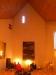 Orgel och plats för kören till vänster i kyrkorummet