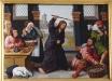 Altarets mittparti berättar om Maria