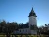 Tornet ser ut som om det vore gjort av snö.Foto:Bertil Mattsson