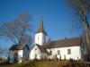 Vallby kyrka Allhelgonadagen 2010. Foto:Bertil Mattsson