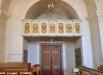 Liknande dekoration som på predikstolen