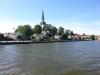 Vy av kyrkan från en båt 14-07-11.