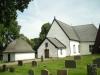Kyrkan sedd från väster
