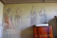 Väggmålningar i sakristian