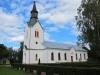 V. Ryds kyrka Rydsnäs mycket pampig med sin frächa fasader