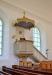 Predikstolen ritades av J Granqvist