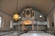 Orgelfasaden från 1773 omslöt tidigare en Schörlinorgel