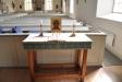 Litet altare under läktaren