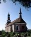 Ekeby kyrka på 90-talet. Foto: Åke Johansson.