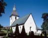 Åsbo kyrka i början av 90-talet. Foto: Åke Johansson.
