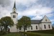 På kyrkan vänstra sida