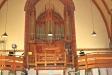 Kyrkans huvudorgel.