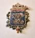 Cuppan är från en medeltida dopfunt som brukats i gamla kyrkan. Varit i privat ägo
