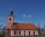 En fin färg på kyrkan i Slaka.